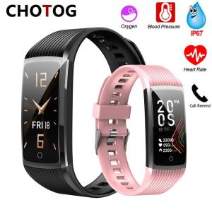 Bracelet Blood Pressure Fitness Tracker – Waterproof Smart Heart Rate Wristband Wrist Watches cb5feb1b7314637725a2e7: Add 4 color strap|Add a blue strap|Add a pink strap|Add a purple strap|Add a red strap|Black|Blue|Pink|Purple|Red