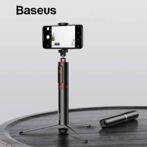 Bluetooth Selfie Stick Portable Handheld For Mobile Phones – Tripod with Wireless Remote Selfie Sticks & Tripods cb5feb1b7314637725a2e7: Gold Stripe Red Stripe Silver Stripe