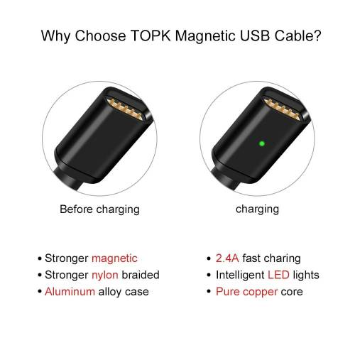 Magnetic Cable Micro USB Super Fast Charging For iPhones & Android Phones USB Phone Cables cb5feb1b7314637725a2e7: Black Cable No Plug|black for iphone|black micro usb|Black Type C|gold cable no plug|gold for iphone|gold type C|grey cable no plug|grey for iPhone|grey micro USB|grey micro USB-11|grey type C|Only Micro Plug|Only Plug For iphone|Only Type C Plug|Silver Cable No Plug|silver for iphone|silver micro usb|Silver type C