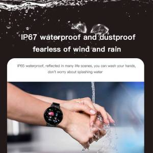 Smart Watch Blood Pressure Heart Rate Monitor Waterproof Watch For Android IOS Wrist Watches cb5feb1b7314637725a2e7: Add 4 straps|Add a blue strap|Add a green strap|Add a pink strap|Add a red strap|Black|Blue|Green|Pink|Red