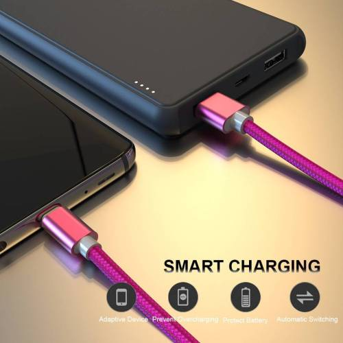 USB Type C Fast Charging Data Sync Cable for Android Phones USB Phone Cables cb5feb1b7314637725a2e7: Black|Blue|Gold|Rose Gold|Rose Red|Silver
