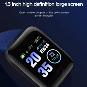 Blood Pressure Smart Watch Heart Rate Wristband Sports Bracelet Wrist Watches cb5feb1b7314637725a2e7: Black dark blue Green Purple Red