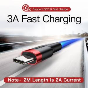Fast Charging USB Type C Cable for Mobile Phone Devices USB Phone Cables cb5feb1b7314637725a2e7: Black|Dark Gray|Gold|Red