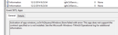 Event Viewer nearly useless message