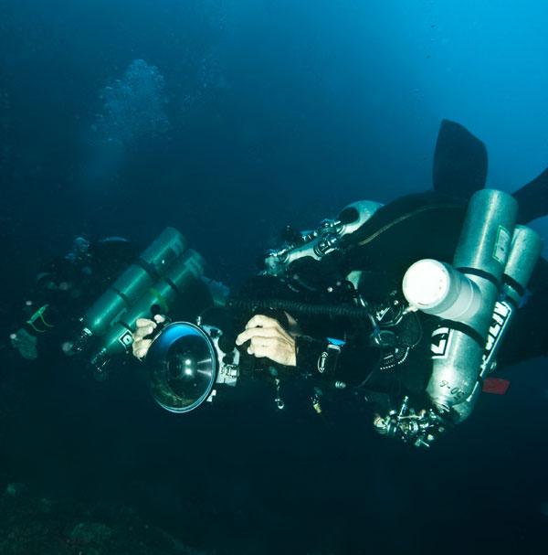 technical diving malapascua