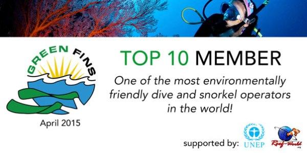 green fins top ten member philippines