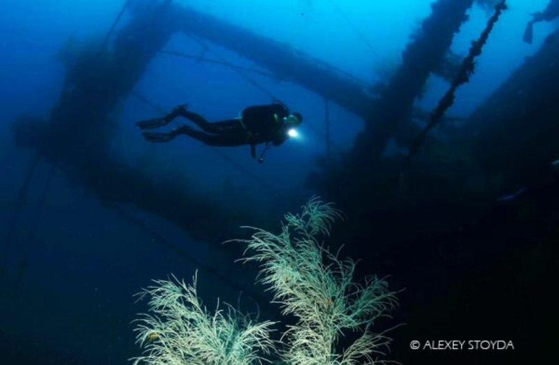 dona marilyn scuba diving wreck malapascua philippines