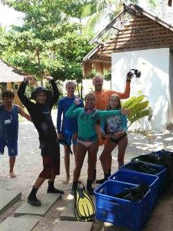 padi rescue diver evolution diving resort philippines