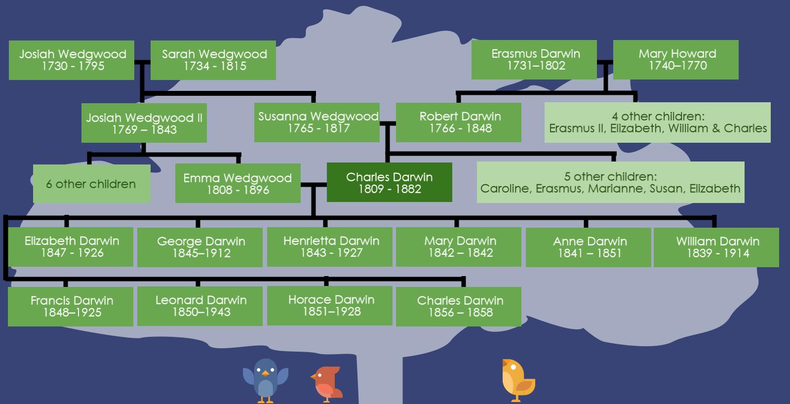 Darwin S Family Tree