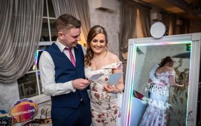 Selfie Mirror For Hire Halton Stadium Wedding Fair