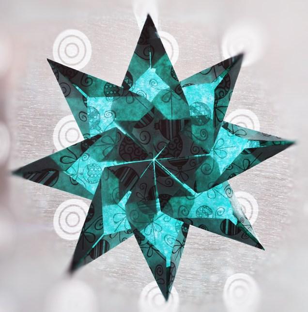etoile origami evolution classe