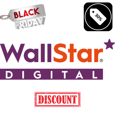 Wallstar wallpapers Black friday