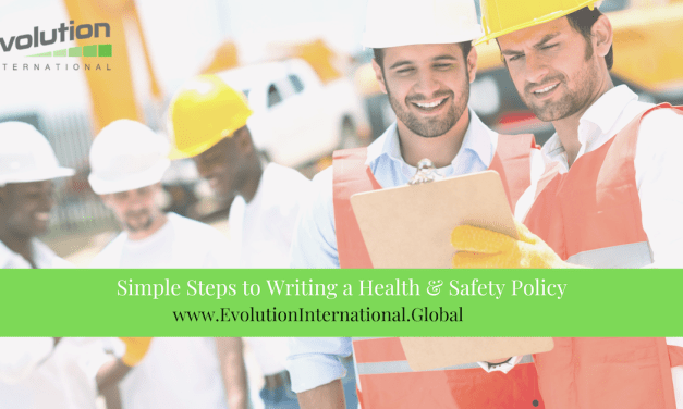 Simple Steps to Writing a Health & Safety Policy