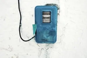 Meter of electricity