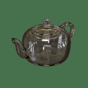 An transparent kettle