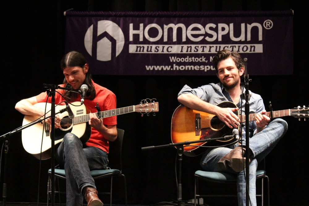 Songwriting Session - The Avett Brothers @ MerleFest (1/6)