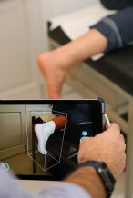 Scanning the foot