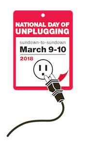 logo from National Day of Unplugging 2018