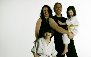Ebbert Family – Evolve All, martial arts training