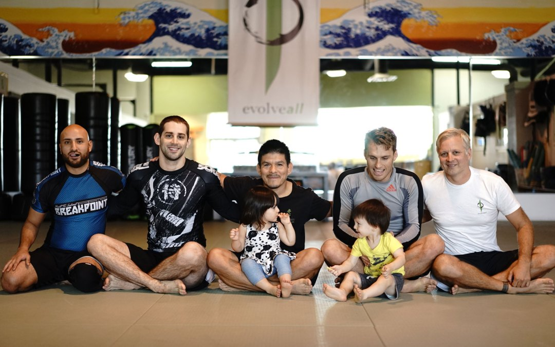 Clark Rouson Gracie at EvolveAll