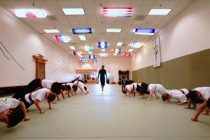 ea2 mat pic - EvolveAll martial arts