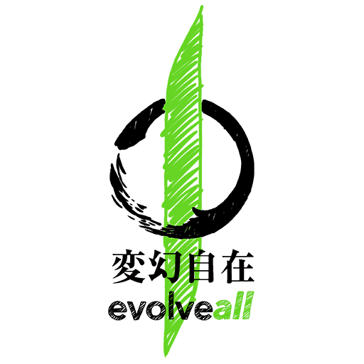 cropped evolveall 2 symbol and text black - Youth Mixed Martial Arts and Self-Defense