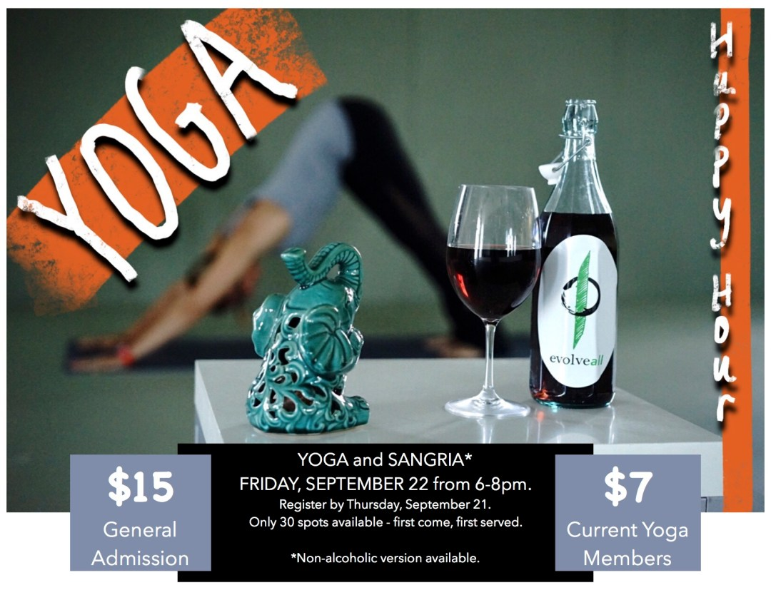 Yoga and Sangria Happy Hour