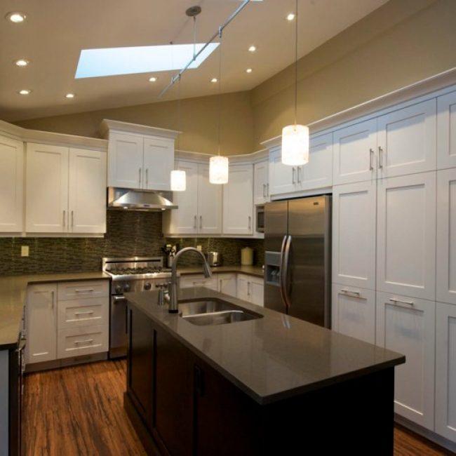 White Lacquer Kitchen Cabinets Evolve Kitchens