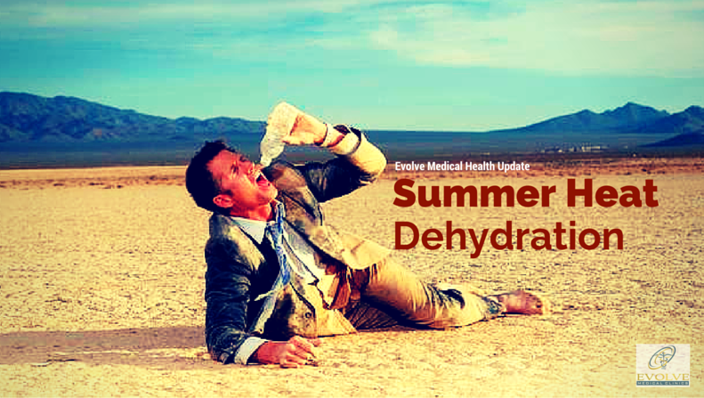 Summertime Heat: Dehydration Risk
