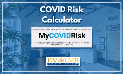 My COVID Risk calculator Evolve 1 - Covid Vaccine