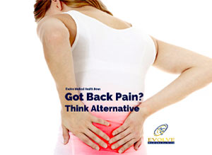 Got Back Pain? Docs Say Think Alternative