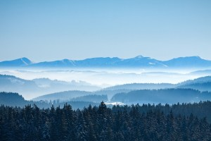 photodune 1288081 morning winter calm mountain landscape m SMALLER - Morning winter calm mountain landscape