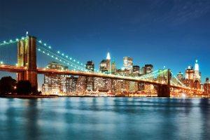 slide13 - Brooklyn bridge at night