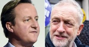 David Cameron Angry at Jeremy Corbyn