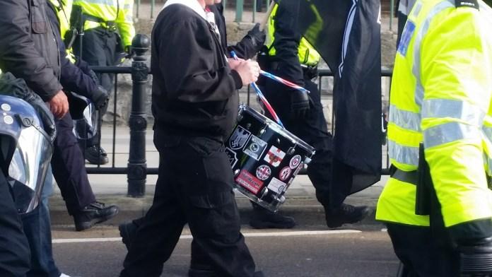 Margate WLM Drummer Nazi Insignia