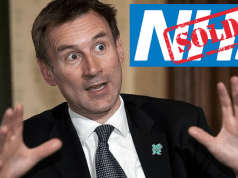 Hunt NHS Privatisation
