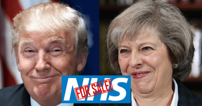 May Trump NHS For Sale
