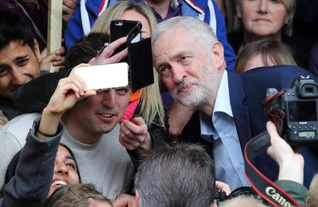 Jeremy Corbyn Selfie