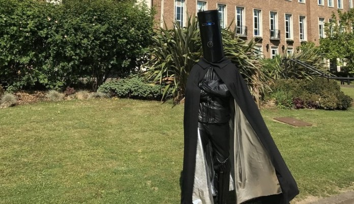 Lord Buckethead Standing Arms Folded