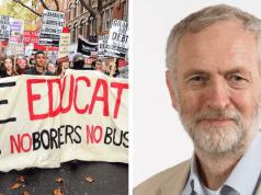 corbyn students