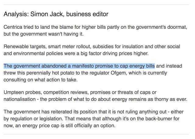 BBC Tory Energy Cap U-Turn 1