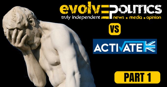 Evolve Politics vs Activate Part 1