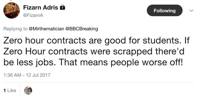 Fizarn Zero Hour Contracts