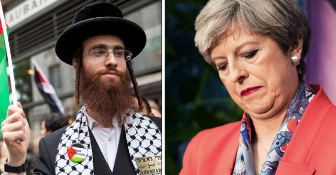 Jewish Poll YouGov Theresa May