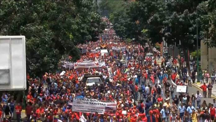 Venezuela Pro-Government March August 2017