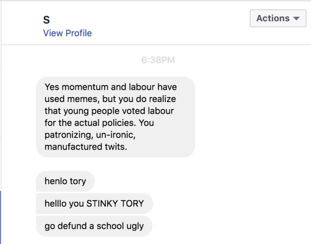Activate Abuse Stinky Tory Ugly