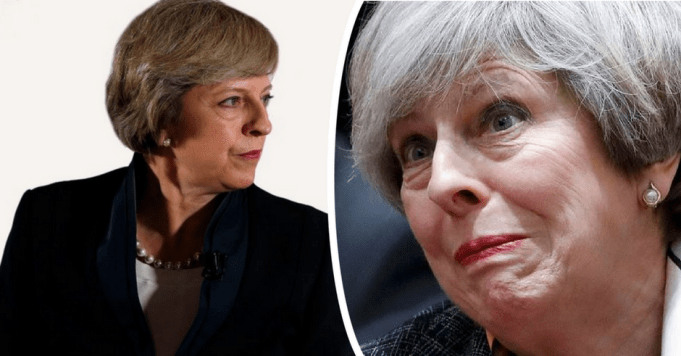 Theresa May blames her own snap election for GE failure