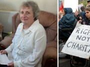 teresa geale disability protest