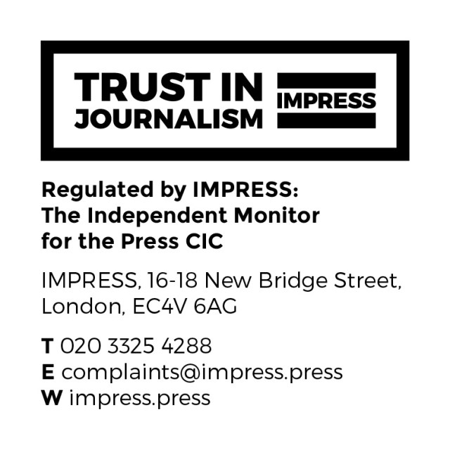 Evolve Politics Is Regulated By IMPRESS, the Independent Monitor for the Press CIC