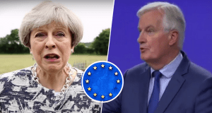 Michel Barnier gives Theresa May 48 hours to agree EU deal or trade talks could collapse | Michel Barnier